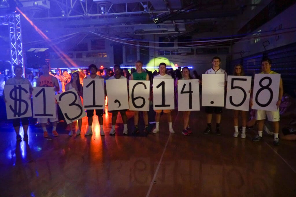 Students at SALSTHON celebrate raising over $130,000 for the Summer Learning Collaborative